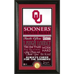 """University of Oklahoma """"House Rules"""" Supreme Bronze Coin Photo Mint"""