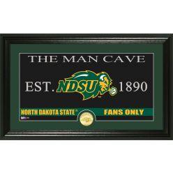 "North Dakota State University ""Man Cave"" Bronze Coin Photo Mint"