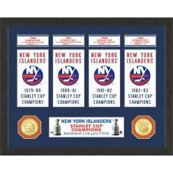 New York Islanders Stanley Cup Banner Collection Photo Mint