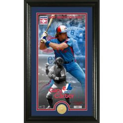 Gary Carter National Baseball Hall of Fame Supreme Bronze Coin Photo Mint