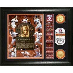 Cal Ripken Jr. Hall of Fame Banner Photo Mint