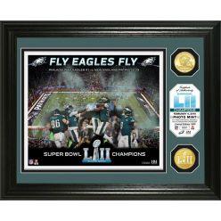 Philadelphia Eagles Super Bowl 52 Champions Celebration Bronze Coin Photo Mint