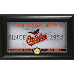 Baltimore Orioles Man Cave Panoramic Bronze Coin Photo Mint