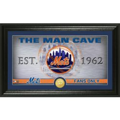 New York Mets Man Cave Panoramic Bronze Coin Photo Mint