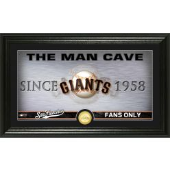 San Francisco Giants Man Cave Panoramic Bronze Coin Photo Mint