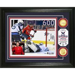 Alex Ovechkin 600th Career Goal Bronze Coin Photo Mint