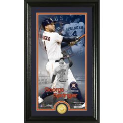 George Springer Supreme Bronze Coin PhotoMint