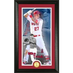 Mike Trout Supreme Bronze Coin PhotoMint