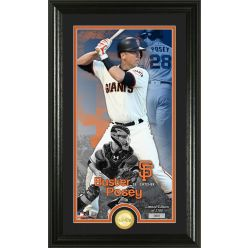 Buster Posey Supreme Bronze Coin PhotoMint