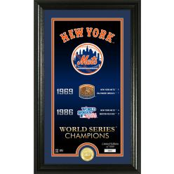 """New York Mets """"Legacy"""" Bronze Coin Photo Mint"""