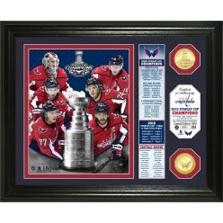 """Washington Capitals 2018 Stanley Cup Final Champions """"Banner"""" Bronze Coin Photo Mint"""