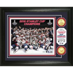 Washington Capitals 2018 Stanley Cup Final Champions Celebration Bronze Coin Photo Mint