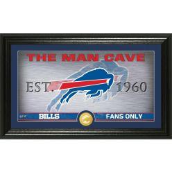 "Buffalo Bills ""Man Cave"" Panoramic Bronze Coin Photo Mint"