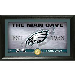 "Philadelphia Eagles ""Man Cave"" Panoramic Bronze Coin Photo Mint"