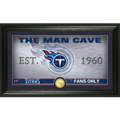 "Tennessee Titans ""Man Cave"" Panoramic Bronze Coin Photo Mint"