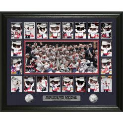 Washington Capitals Stanley Cup Champions Memorable Moment Silver Coin Photo Mint