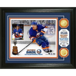 Mathew Barzal 2018 NHL Rookie of the Year Bronze Coin Photo Mint