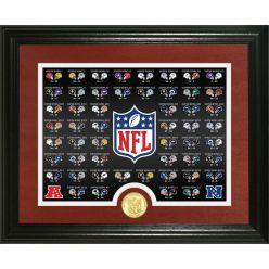 Super Bowl History Bronze Coin Photo Mint