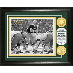 "Bart Starr ""Ice Bowl"" Bronze Coin Photo Mint"