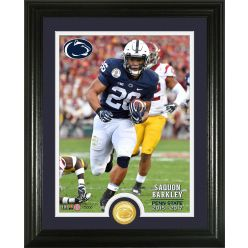 "Saquon Barkley ""Penn State"" Bronze Coin Photo Mint"