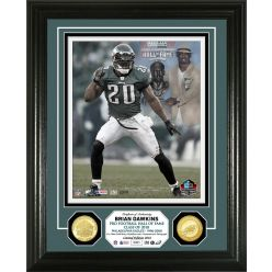 Brian Dawkins Hall of Fame Induction Day Bronze Coin Photo Mint