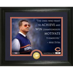 Mike Ditka Quote Bronze Coin Photo Mint