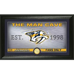 Nashville Predators Man Cave Panoramic Bronze Coin Photo Mint