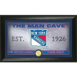 New York Rangers Man Cave Panoramic Bronze Coin Photo Mint