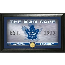 Toronto Maple Leafs Man Cave Panoramic Bronze Coin Photo Mint