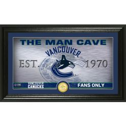 Vancouver Canucks Man Cave Panoramic Bronze Coin Photo Mint