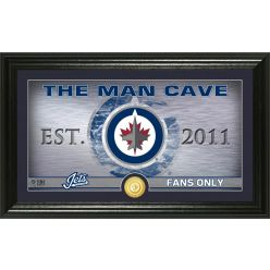 Winnipeg Jets Man Cave Panoramic Bronze Coin Photo Mint