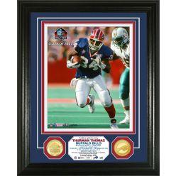 Thurman Thomas 2007 Pro Football Hall of Fame Bronze Coin Photo Mint