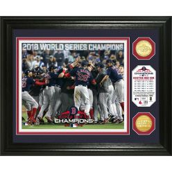 "Boston Red Sox 2018 World Series Champions ""Celebration"" Bronze Coin Photo Mint"