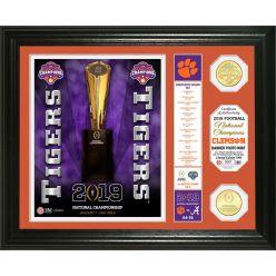"Clemson Tigers 2018 Football National Champions ""Banner"" Bronze Coin Photo Mint"