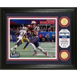 New England Patriots Super Bowl 53 MVP Bronze Coin Photo Mint