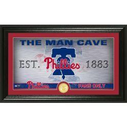 Philadelphia Phillies Man Cave Panoramic Bronze Coin Photo Mint