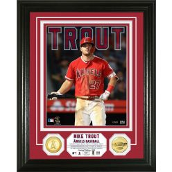 Mike Trout Bronze Coin Photo Mint