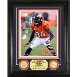 Champ Bailey Hall of Fame 2019 Bronze Coin Photo Mint