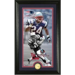 Ty Law Hall of Fame 2019 Supreme Bronze Coin Photo Mint