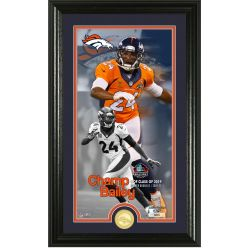 Champ Bailey Hall of Fame 2019 Supreme Bronze Coin Photo Mint
