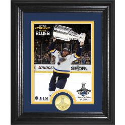 Ryan O'Reilly Stanley Cup Trophy Select Series Bronze Coin Photo Mint