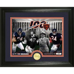 """Chicago Bears 100th Anniversary """"Traditions"""" Bronze Coin Photo Mint"""