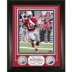 Ohio State Ezekiel Elliott Silver Coin Player Photo Mint