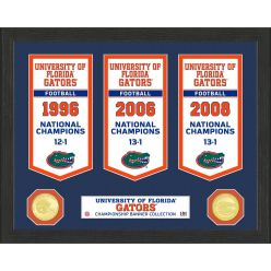 University of Florida National Champions Banner Collection Photo Mint