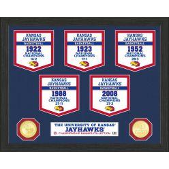 University of Kansas Basketball National Champions Banner Collection Photo Mint