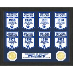University of Kentucky Basketball National Champions Banner Collection Photo Mint