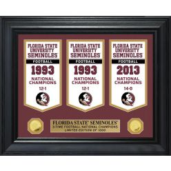 Florida State University Gold Coin Deluxe Banner Collection