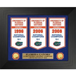University of Florida Gators National Champions Deluxe Banner Collection