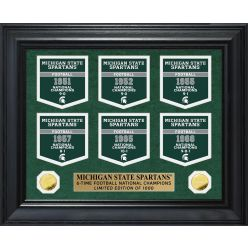 Michigan State University Gold Coin Deluxe Banner Collection