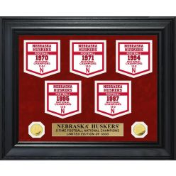 University of Nebraska Gold Coin Deluxe Banner Collection